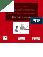 Español para inmigrantes. DILE. Guía para el profesor