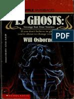 13 Ghosts Strange but True Stories New