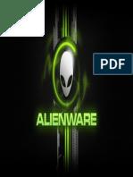 Green Alienware - Desktop Background