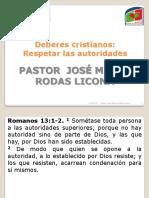 08 Junio - Deberes Cristianos