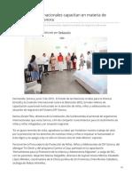 03-06-2019 - Organismos Internacionales capacitan en materia de migración a DIF Sonora - Canalsonora.com