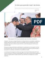 06-06-2019 - Traen Programa Ver Bien Para Aprender Mejor Dan Lentes a Estudiantes - Opinionsonora.com