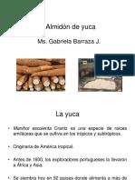Clase Almidon de Yuca