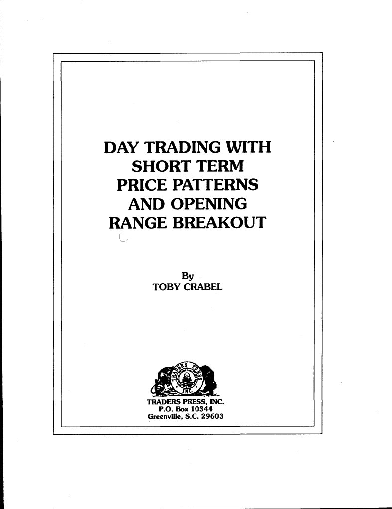 Crabel toby day trading with short term price patterns 2 fandeluxe Images