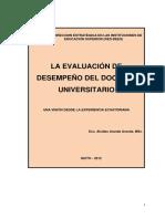 Evaluación Del Desempeño Docente (1)