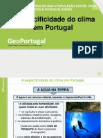 A Especificidade Do Clima Em Portugal