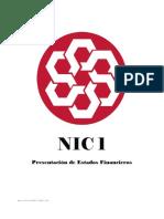 NIC1 Presentación de Estados Financieros