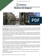 Strada Knez Mihailova Din Belgrad, Serbia - Infotour.ro