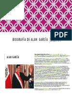 Biografía de Alan García...