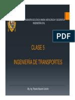 Ingeniería de Transportes c5-2018ii