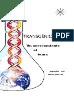 Transgenicos Un Acercamiento Al Tema