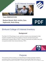 interest inventory presentation