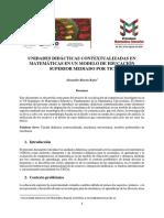 Rincón_Universidad Autonoma de Manizales_Unidades Didacticas Contextuales en Matemáticas en Un Modelo de Educación Mediado Por TIC