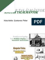 Magyar Találmányok
