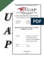 Documento de PAMA