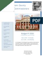 Effingham FY 2020 Budget - 2nd Reading Final Rev