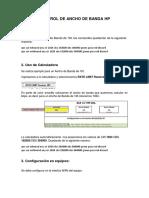 Manual Control de Ancho de Banda Hp
