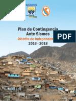Plan de Contingencia Por Sismo Distrito de Independencia