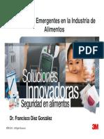 Patógenos Emergentes en La Industria de Alimentos - 8 Julio 2011 - Francisco Diez - 3M