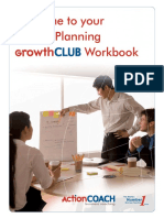 ActionCOACH Growth Club Workbook