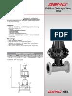 Catalogo Tecnico Valvula y Actuador GEMU 656