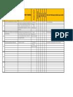 Lista Diagrama ARIANE 2