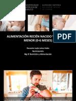 Alimentación RN y Lactante Menor (1)