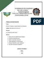 Informe Ensayo Triaxial Consolidado No Drenado Final