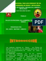 Mineria Salud Ocupacional