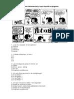 Prueba Del Comic- Leyenda