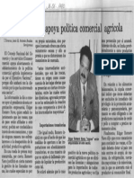 Edgard Romero Nava - Consecomercio Apoya Politica Comercial Agricola - El Informador 16.06.1990