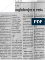 Edgard Romero Nava - Libre Importacion Agricola Mejora Los Precios - El Universal 16.06.1990