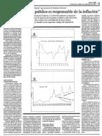 Edgard Romero Nava El Excesivo Gasto Publico Es Responsable de La Inflacion - Reporte 06.08.1990