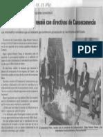 El Presidente Perez Se Reunio Con Directivos de Consecomercio - Edgard Romero Nava - El Universal 07.07.1990