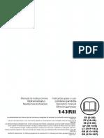 Manual Guadana 143r II
