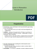 Humanities - Introduction