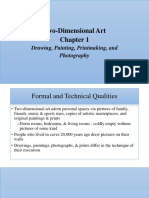 Humanities - Two-Dimensional Art - Chapter 1