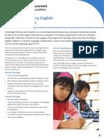 23894 Cambridge Primary English Curriculum Outline