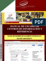 Manual de Catalogo en Linea