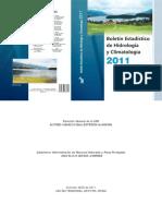 Boletin Estadistico de Hidrologia y Climatologia 2011