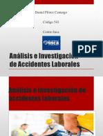 Análisis e Investigación de Accidentes Laborales