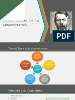 Teoría Clásica de La Administración[3812]