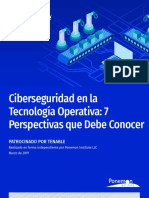 PonemonReport-Cybersecurity in Operational Technology Es-la