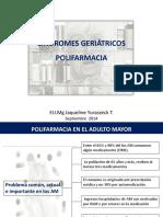 Clase 24 Septiembre Sindromes Geriatricos Polifarmacia e Infecciones PDF
