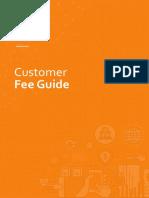 Customer Fee Guide