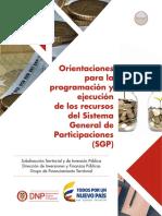 3. Orientaciones SGP