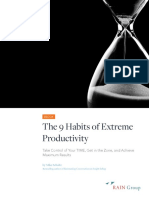 The 9 Habits of Extreme Productivity99999