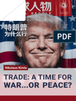Trade Time for War or Peace99999