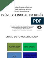 Frenulo Lingual Em Bebês Ok