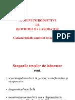 Caracteristici Teste Laborator